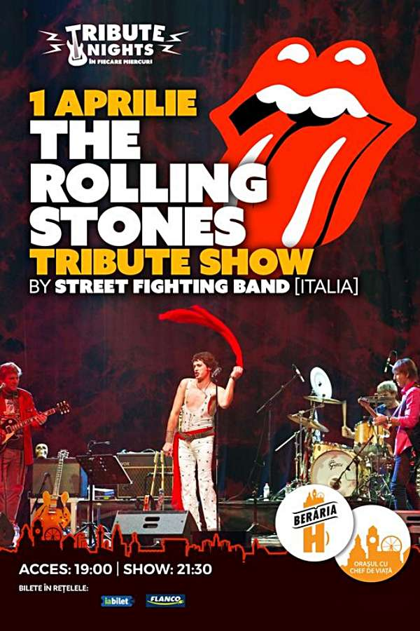 Sympathy for the Rolling Stones // Tribute Show la Berăria H