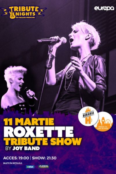 Poster eveniment Roxette Tribute