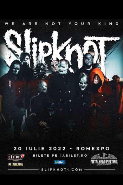 Poster eveniment Slipknot
