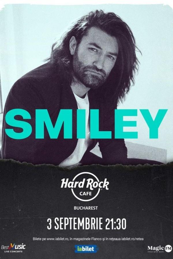 Smiley la Hard Rock Cafe