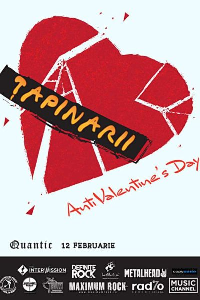 Poster eveniment Țapinarii - Anti Valentine\'s Day