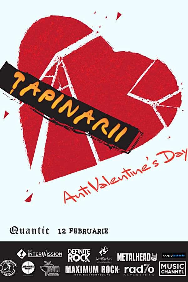 Țapinarii - Anti Valentine's Day la Quantic Club
