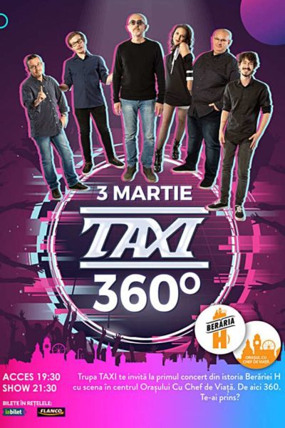 Poster eveniment TAXI - 360