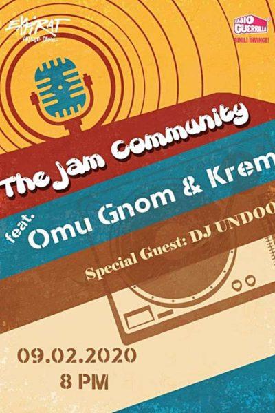 Poster eveniment The Jam Community feat. Omu Gnom & Krem