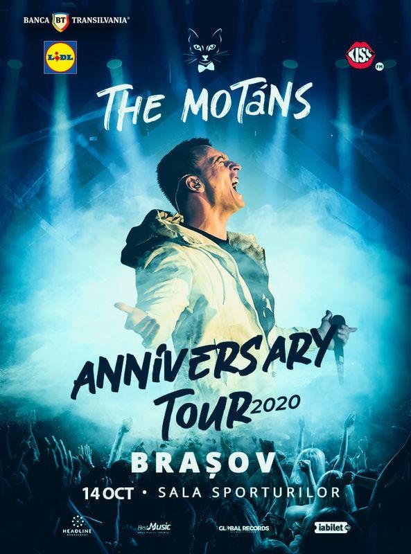 The Motans - turneu aniversar la Sala Sporturilor Brașov