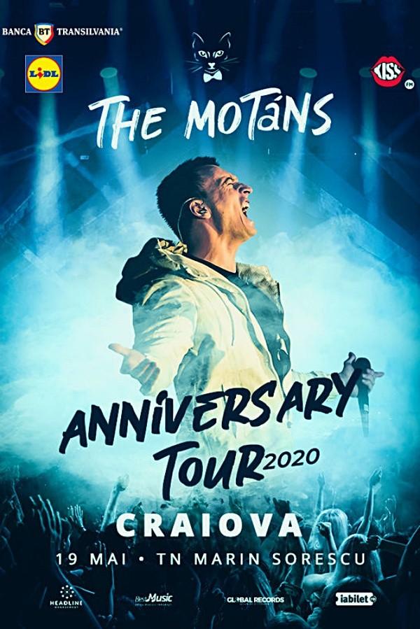 The Motans - turneu aniversar la Teatrul Național Marin Sorescu