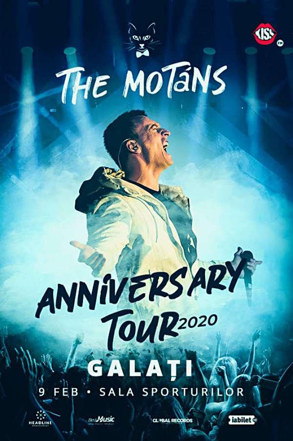The Motans - turneu aniversar la Sala Sporturilor Galați