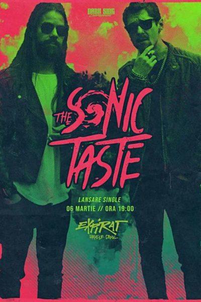 Poster eveniment The Sonic Taste - lansare single