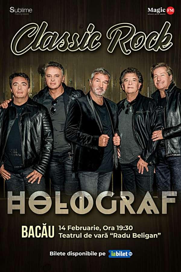 Turneu Holograf - Classic Rock la Teatrul de Vară