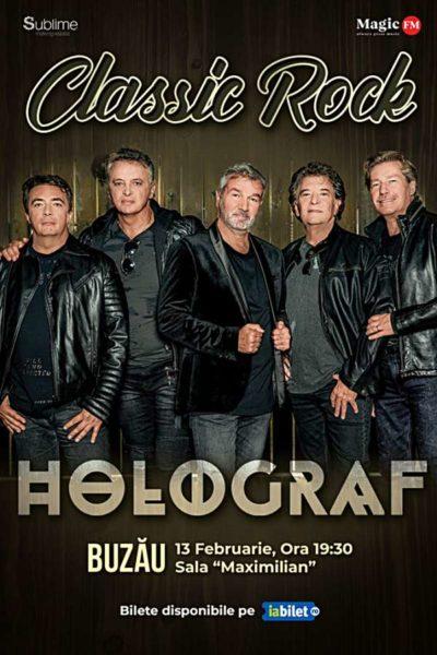 Poster eveniment Turneu Holograf - Classic Rock