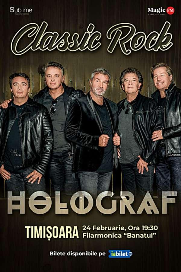 Turneu Holograf - Classic Rock la Filarmonica Banatul din Timișoara