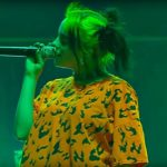 Billie Eilish live în 2019 (Screenshot)