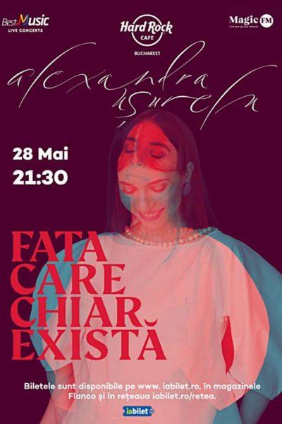 Poster eveniment Alexandra Ușurelu - Fata care chiar există