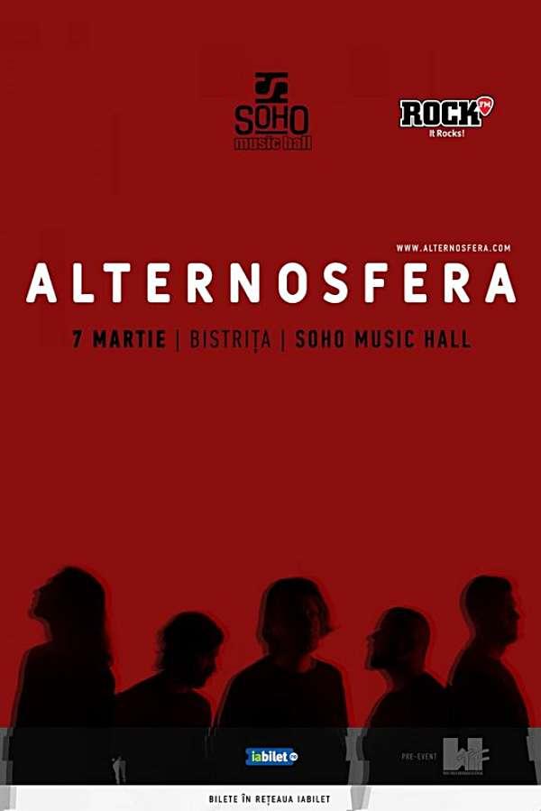 Alternosfera la Soho Music Hall (Bistrița)