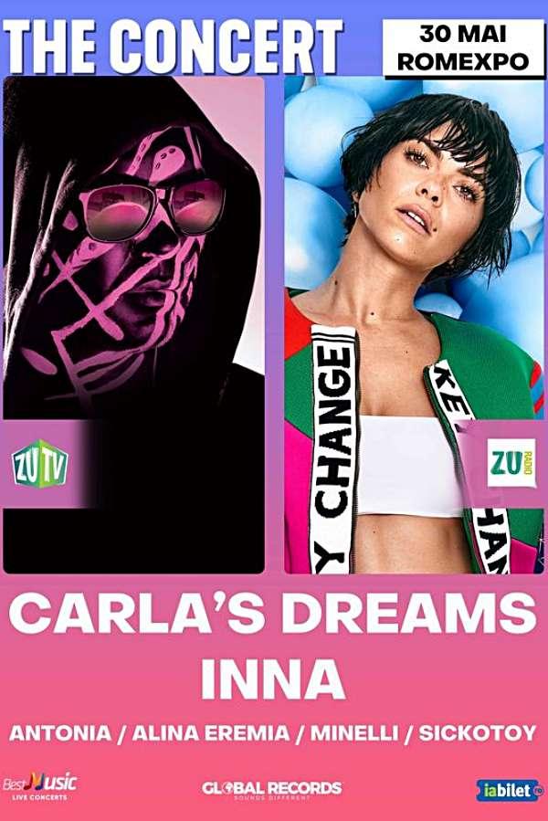 Carla's Dreams & INNA - THE Concert la Romexpo
