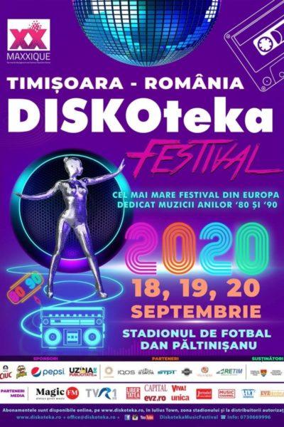 Poster eveniment Diskoteka Festival 2021