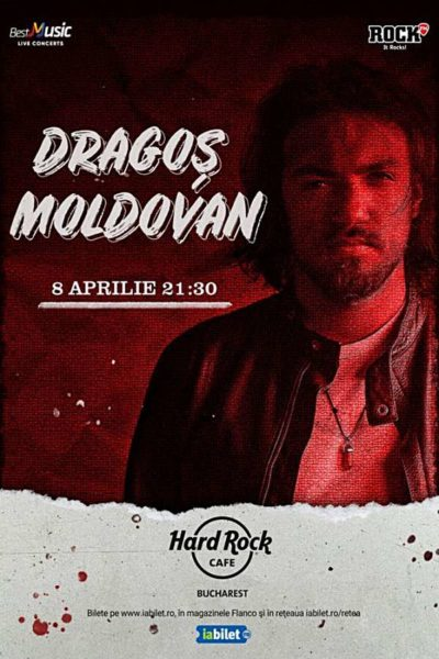 Poster eveniment Dragoș Moldovan