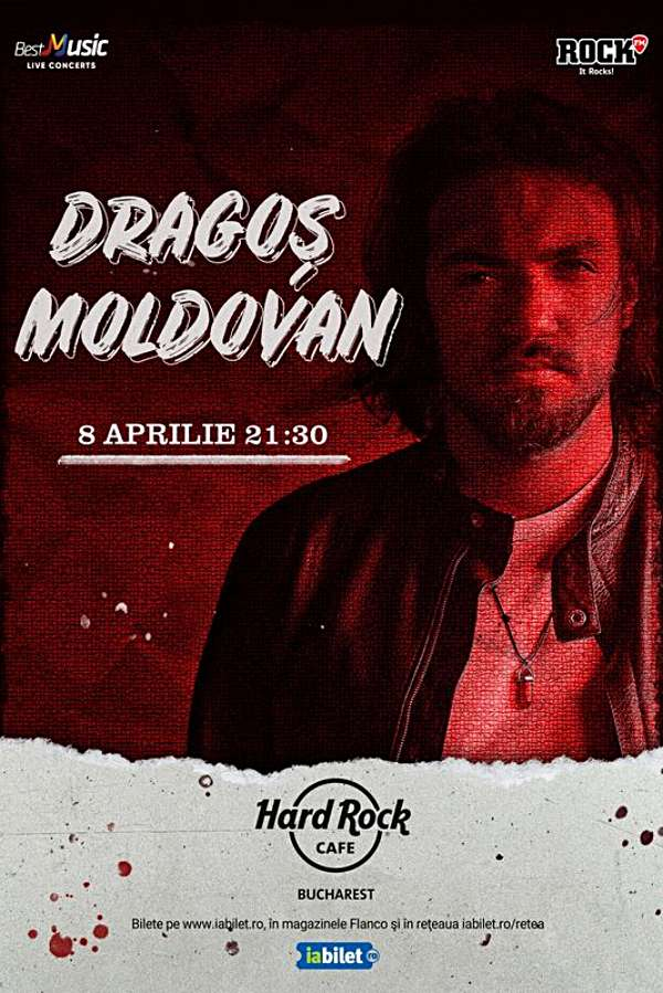 Dragoș Moldovan la Hard Rock Cafe