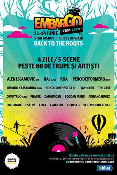 Poster eveniment Embargo Fest 2020