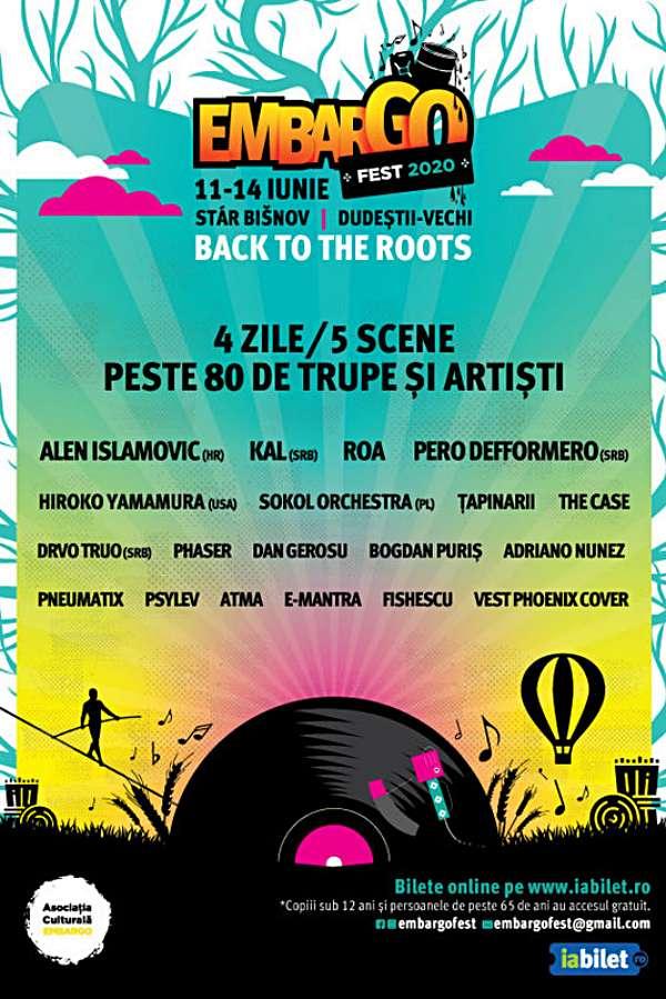 Embargo Fest 2020 la Dudeștii - Vechi (Timiș)