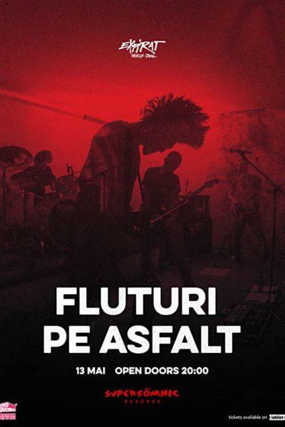 Poster eveniment Fluturi pe Asfalt
