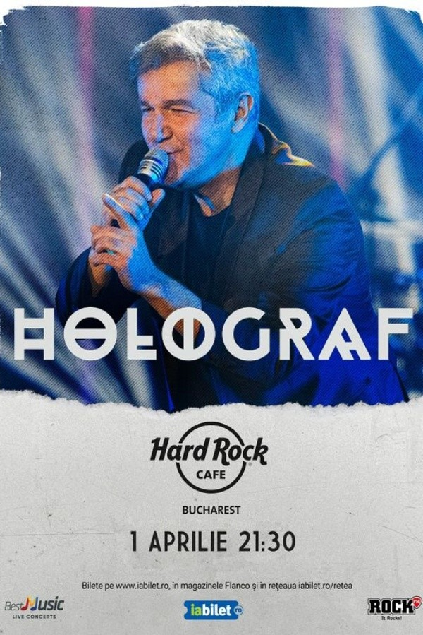 Holograf la Hard Rock Cafe