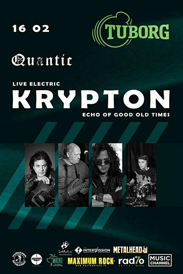Krypton la Quantic Club