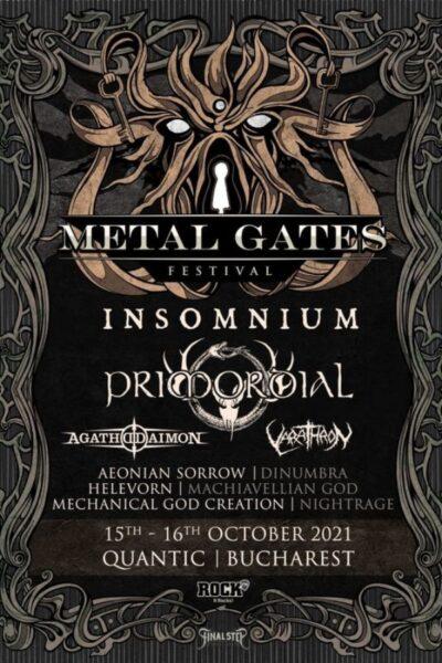 Poster eveniment Metal Gates Festival 2021