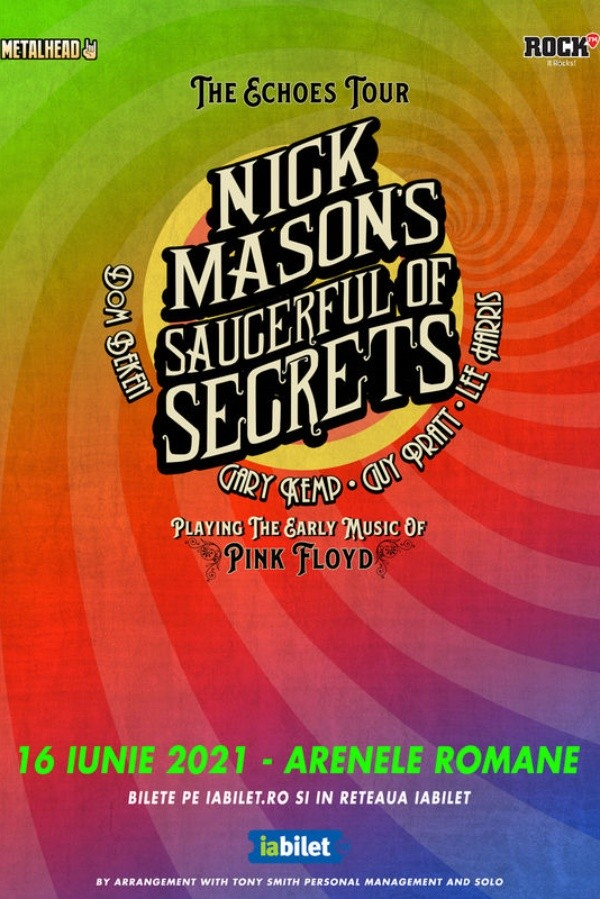Nick Mason's Saucerful Of Secrets la Arenele Romane