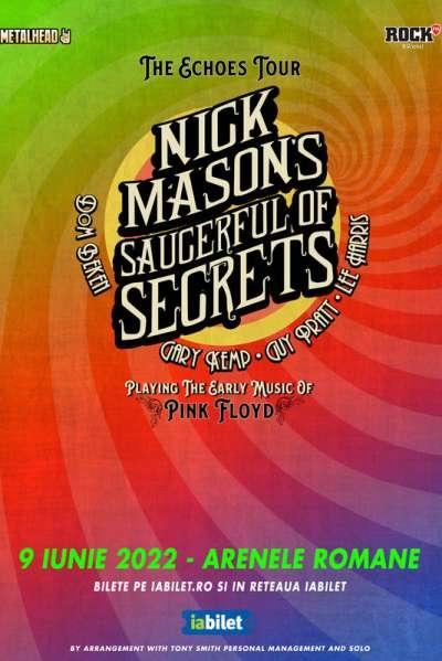 Poster eveniment Nick Mason\'s Saucerful Of Secrets