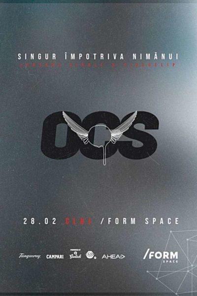 Poster eveniment Omul cu Șobolani - lansare single