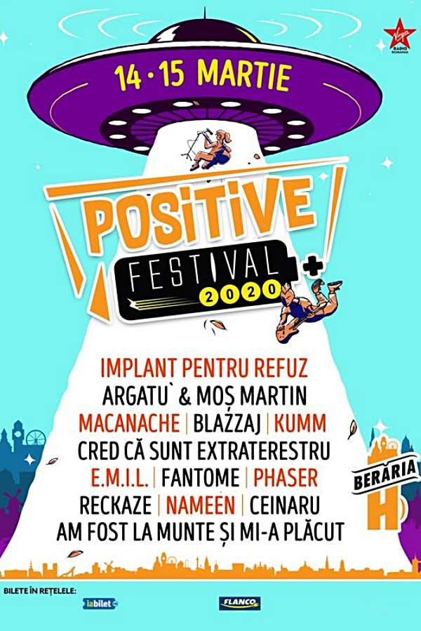 Positive Festival 2020 la Berăria H