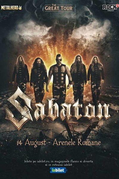 Poster eveniment Sabaton