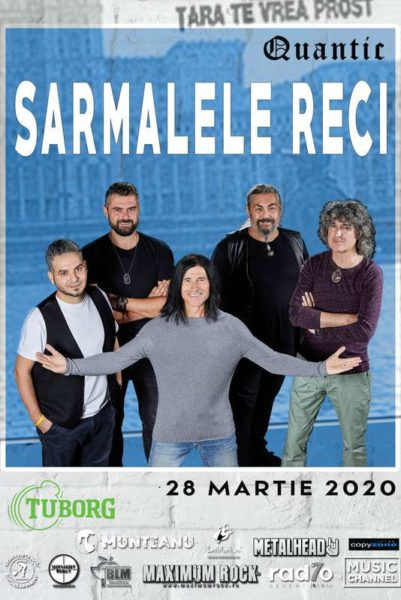 Poster eveniment Sarmalele Reci - Țara te vrea prost