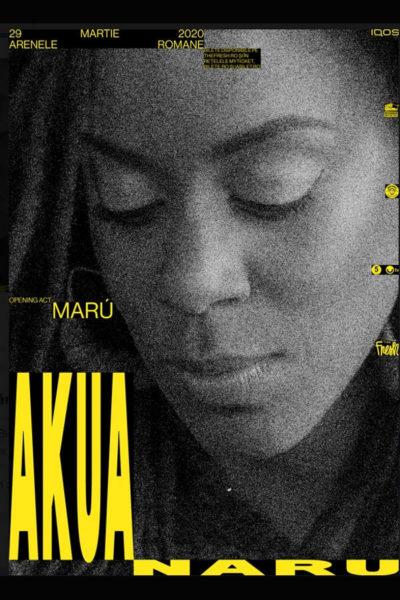 Poster eveniment The Fresh pres. Akua Naru