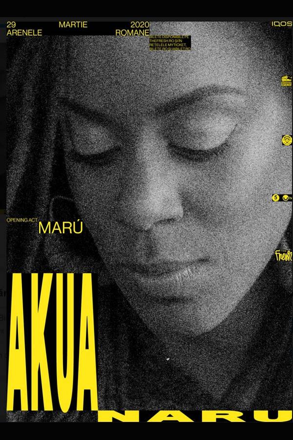 The Fresh pres. Akua Naru la Arenele Romane