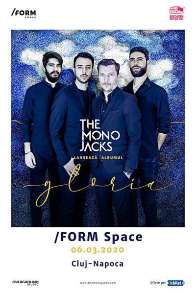 Poster eveniment The Mono Jacks - lansare album