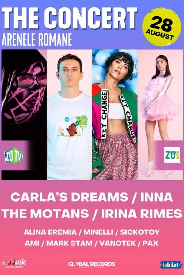 The Motans & Irina Rimes - THE Concert la Arenele Romane