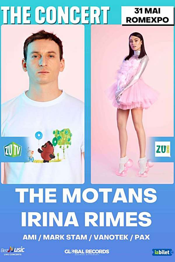 The Motans & Irina Rimes - THE Concert la Romexpo