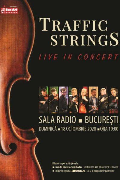 Poster eveniment Traffic Strings