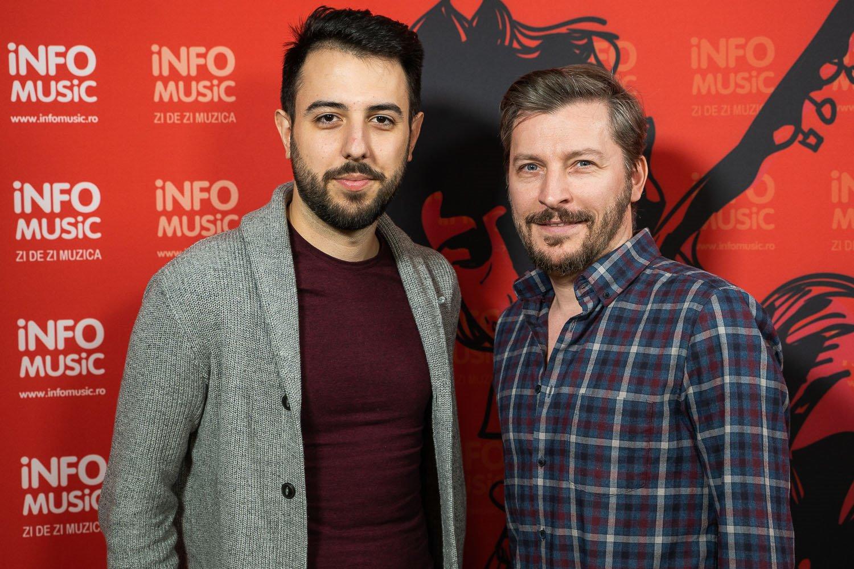 Andrei Zamfir și Doru Trăscău la InfoMusic, interviu acordat în februarie 2020