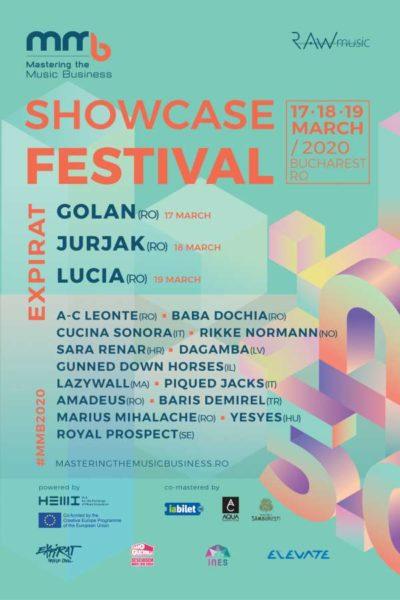 Poster eveniment MMB Showcase Festival 2020