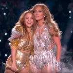 Shakira și Jennifer Lopez la Super Bowl 2020 (Screenshot)