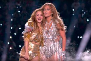 Shakira și Jennifer Lopez la Super Bowl 2020 (Screenshot)