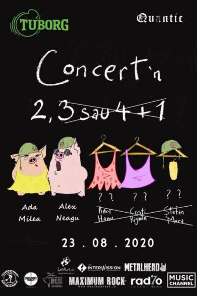 Poster eveniment Concert în 2, 3 sau 4 + 1 - Ada Milea