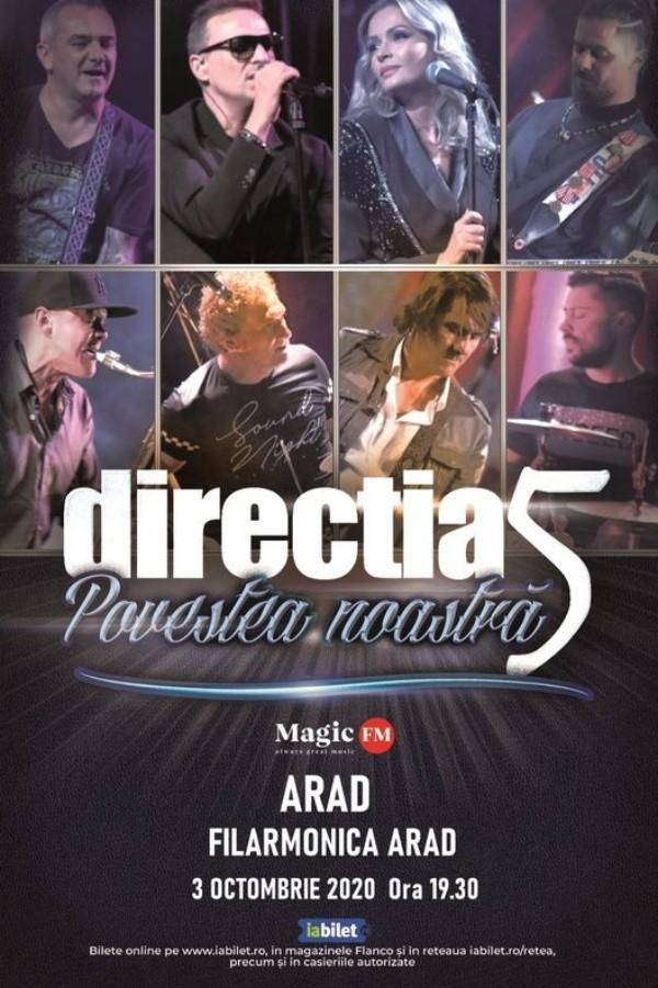 Direcția 5 - Povestea noastră la Filarmonica de Stat Arad