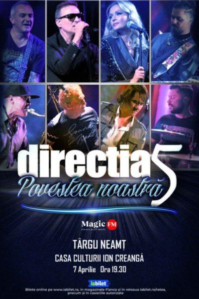 Poster eveniment Direcția 5 - Povestea noastră