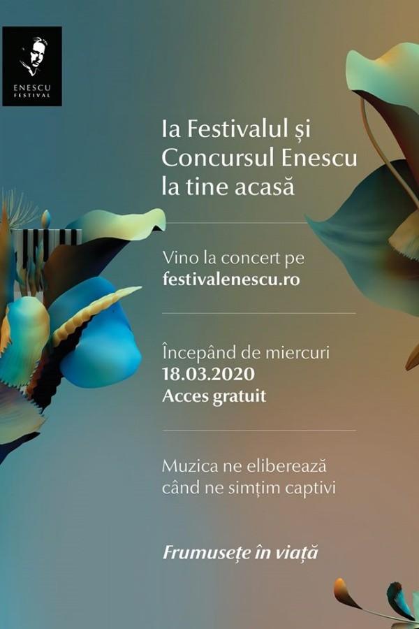 Festivalul George Enescu 2020 - ONLINE la