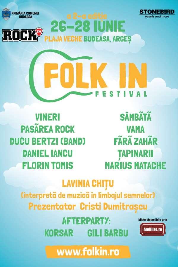 Folk In Festival 2020 la Lacul Budeasa