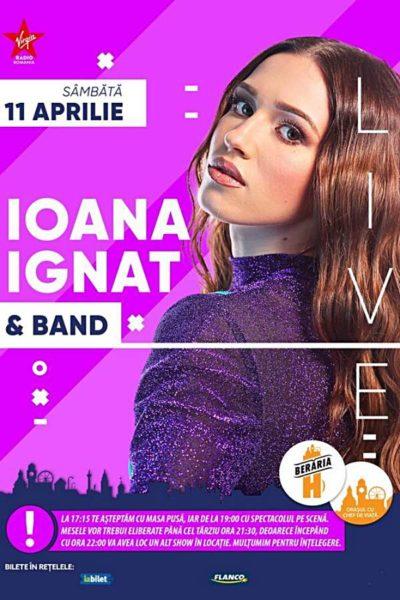 Poster eveniment Ioana Ignat